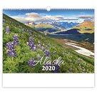 Kalendář nástěnný 2020 - Alaska