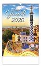 Kalendář nástěnný 2020 - Antoni Gaudí