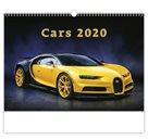 Kalendář nástěnný 2020 - Cars