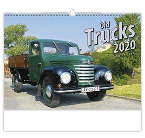 Kalendář nástěnný 2020 - Old Trucks