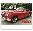 Kalendář nástěnný 2020 - Retro Cars