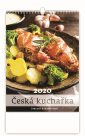 Kalendář nástěnný 2020 - Česká nástěnná kuchařka