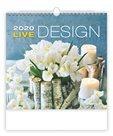 Kalendář nástěnný 2020 - Live Design