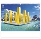 Kalendář nástěnný 2020 - Modern Architecture