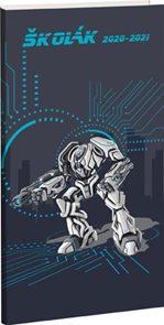 Školní diář školák 2020/21 T-robot