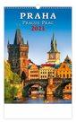 Kalendář nástěnný 2021 - Praha/Prague/Prag