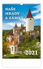 Kalendář nástěnný 2021 - Naše hrady a zámky