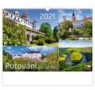 Kalendář nástěnný 2021 - Putování po Česku