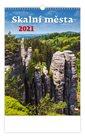 Kalendář nástěnný 2021 - Skalní města
