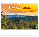 Kalendář nástěnný 2021 - Šumava