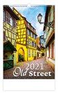 Kalendář nástěnný 2021 - Old Street