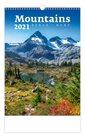 Kalendář nástěnný 2021 - Mountains/Berge/Hory