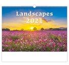 Kalendář nástěnný 2021 - Landscapes