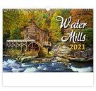 Kalendář nástěnný 2021 - Water Mills
