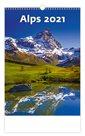 Kalendář nástěnný 2021 - Alps