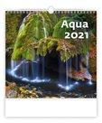 Kalendář nástěnný 2021 - Aqua