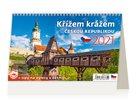 Kalendář stolní 2021 - Křížem krážem Českou republikou