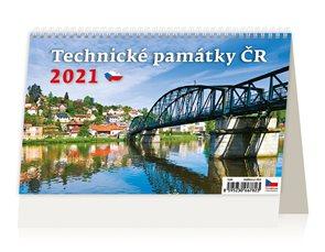 Kalendář stolní 2021 - Technické památky ČR