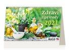 Kalendář stolní 2021 - Zdraví z přírody