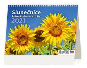 Kalendář stolní 2021 - Slunečnice