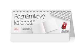 Kalendář stolní 2021 - Poznámkový kalendář