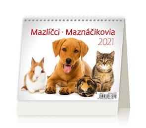 Kalendář stolní 2021 - MiniMax Mazlíčci/Maznáčikovia