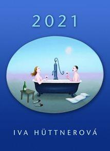 Nástěnný kalendář 2021 Iva Hüttnerová
