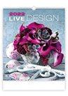 Kalendář nástěnný 2022 Exclusive Edition - Live Design