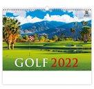 Kalendář nástěnný 2022 Exclusive Edition - Golf