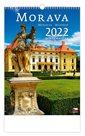 Kalendář nástěnný 2022 - Morava/Moravia/Mähren