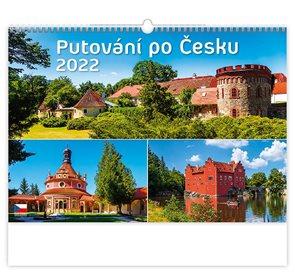 Kalendář nástěnný 2022 - Putování po Česku