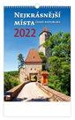Kalendář nástěnný 2022 - Nejkrásnější místa ČR