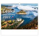 Kalendář nástěnný 2022 - Česko mezi oblaky