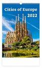 Kalendář nástěnný 2022 - Cities of Europe