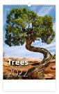 Kalendář nástěnný 2022 - Trees/Bäume/Stromy