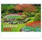Kalendář nástěnný 2022 - Gardens