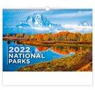 Kalendář nástěnný 2022 - National Parks