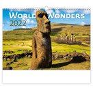 Kalendář nástěnný 2022 - World Wonders