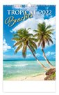 Kalendář nástěnný 2022 - Tropical Beaches