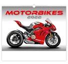 Kalendář nástěnný 2022 - Motorbikes