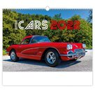 Kalendář nástěnný 2022 - Retro Cars