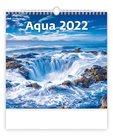 Kalendář nástěnný 2022 - Aqua