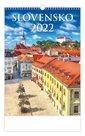 Kalendář nástěnný 2022 - Slovensko
