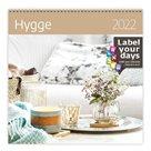 Kalendář nástěnný 2022 Label your days - Hygge