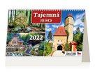 Kalendář stolní 2022 - Tajemná místa ČR