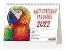 Kalendář stolní 2022 - Antistresový pracovní
