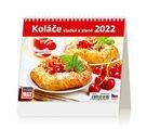 Kalendář stolní 2022 - MiniMax Koláče sladké a slané