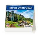 Kalendář stolní 2022 - MiniMax Tipy na výlety