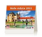 Kalendář stolní 2022 - MiniMax Naše města