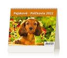 Kalendář stolní 2022 - MiniMax Pejskové/Psíčkovia